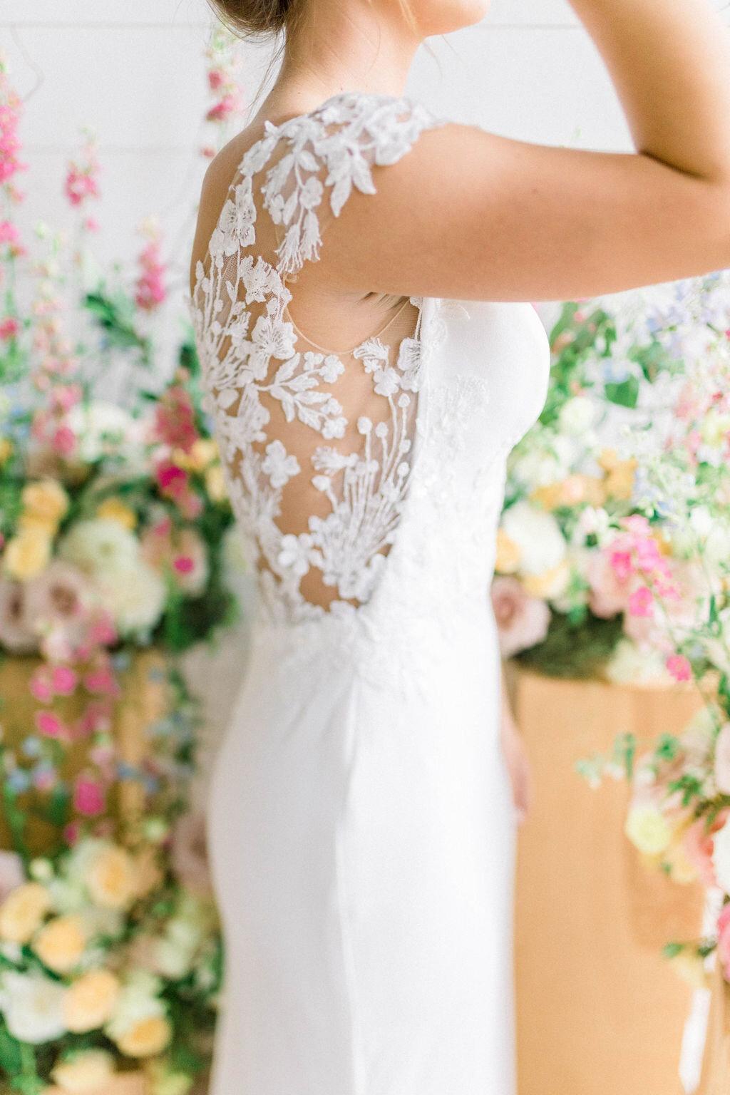bridal gown shopping — Real Cleo Bridal Weddings — Cleo Bridal