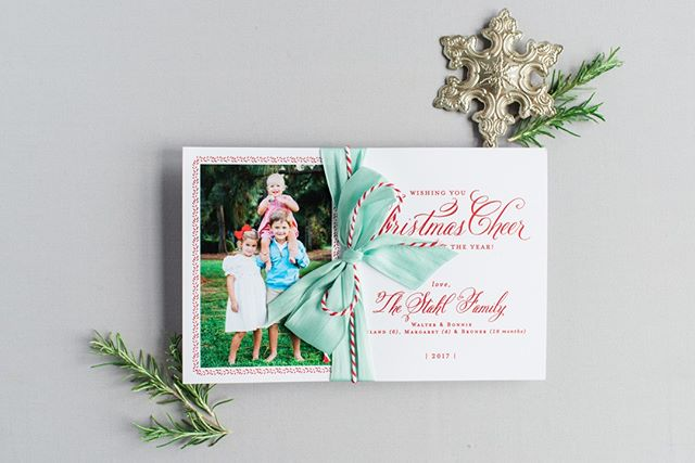 Want to step it up a notch? Add some bakers twine and ribbon and now you've got a statement card!  We still love this beautiful card!