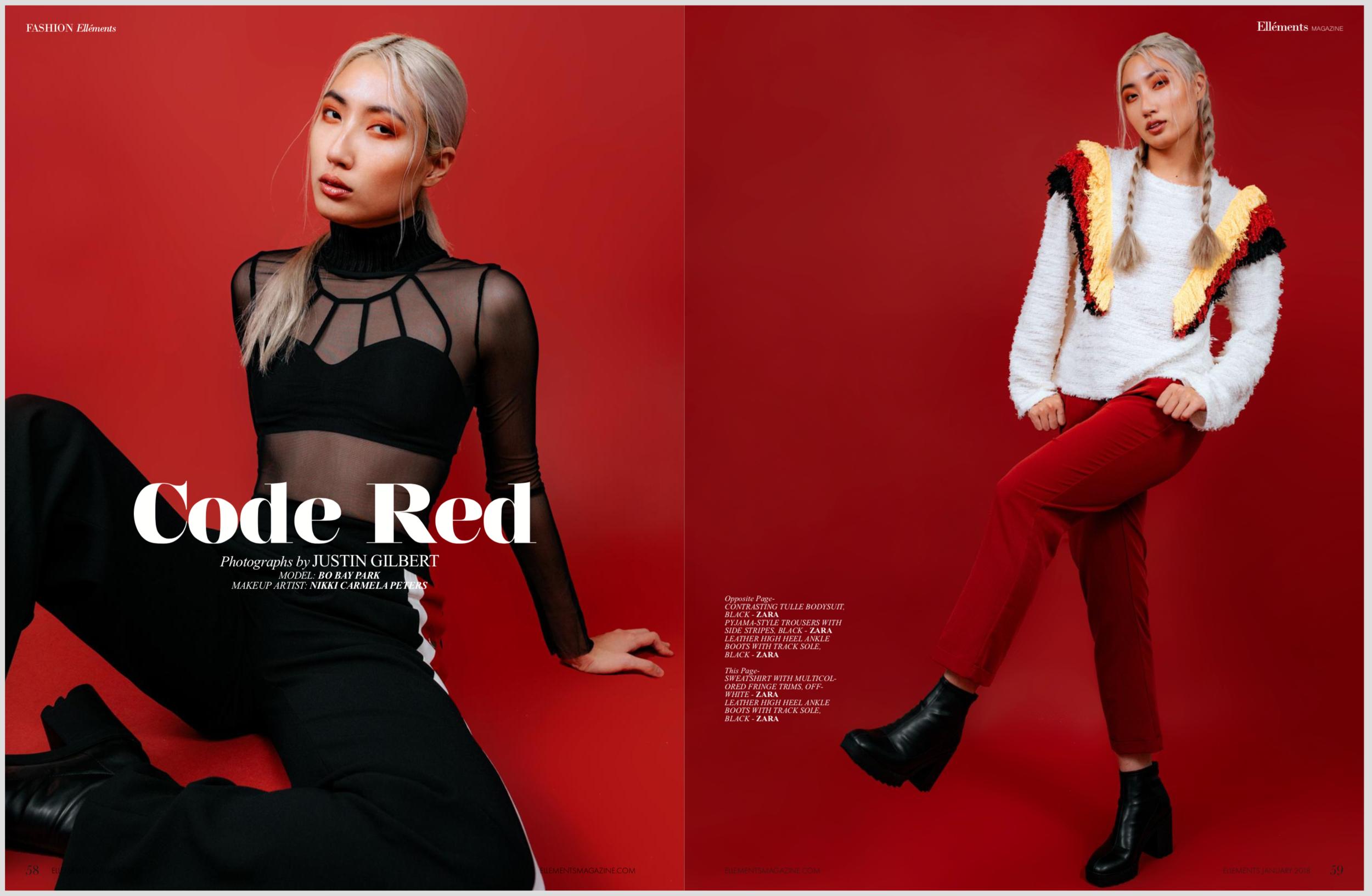 Justin Gilbert Ellements Magazine Editorial Fashion