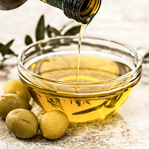 OLIVE OIL     Olea europea   Moisturises, soothes and protects skin. Rich in Vitamin E and A and oleic acid. Contains squalene, which is found naturally on the skin and helps with hydration. It has been used for its moisturising benefits for over four thousand years.