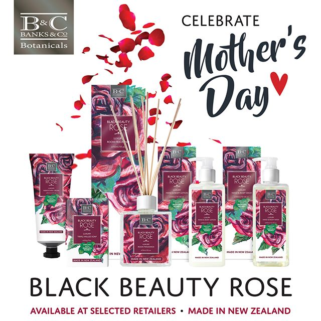 There are still a few shopping days left before Mother's Day. If she loves roses, our Black Beauty Rose collection offers a selection of great gift ideas!⁣ ⁣Available from selected retailers.⁣ ⁣Visit our website in Bio for location details. . #giftsforher #blackrose #banksandconz #blackbeautyrose #madeinnz #mothersday #giftideas #madeinnewzealand #buylocal #love