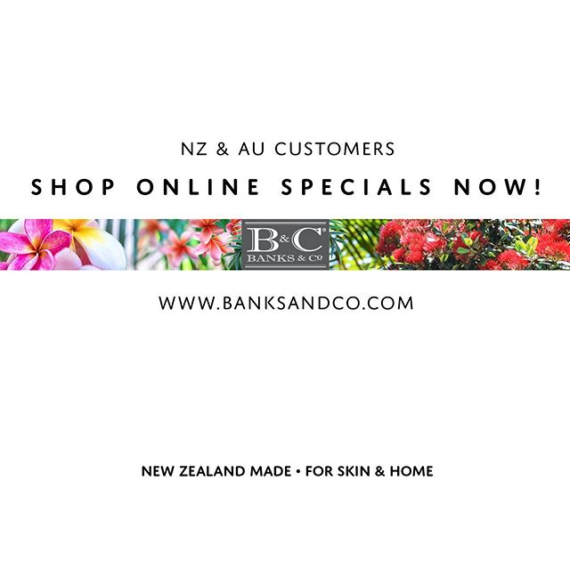 For those of you who live in NZ or AU visit our web for weekly specials! Link in bio. We're offering amazing reduced prices on end-of-lines. Fabulous bargains to buy for birthday gifts (or even Christmas if you're super organised!) or just snap up something special for yourself! . Luxury made in New Zealand. . #banksandconz #giftideas #madeinnz #nzsale #onlineshoppingaustralia #onlineshop #luxury #skincare #roomfragrance #shoplocal #newzealand