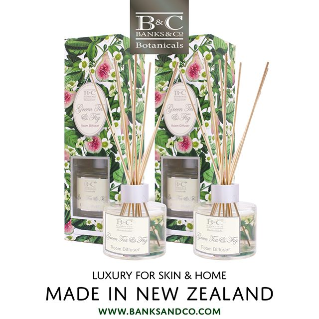 This week we are offering a massive special! Green Tea and Fig Luxury Room Diffusers — Just $25 for two!* Link in Bio NOTE *End-of-line item. While stocks last. NZ & AU online customers only. . #banksandconz #banksandconz #giftideas #madeinnz #nzshopping #onlineshoppingaustralia #onlineshop #luxury #skincare  #diffuser #roomfragrance #shoplocal #newzealand #onlineshoppingnz #gift #greentea #fig #manukahoney #nzgift #specialoffer
