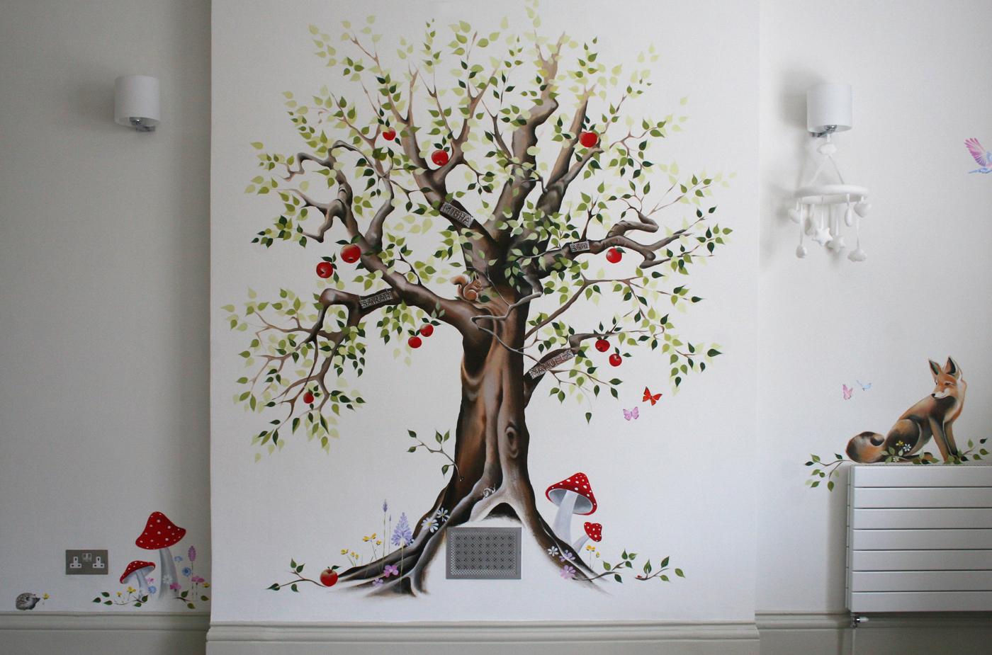 Apple Tree mural