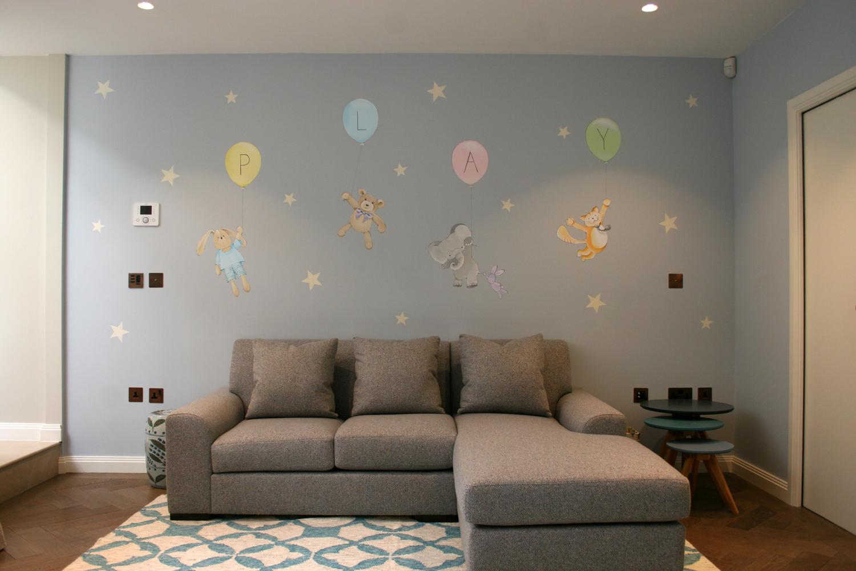 Playtime mural