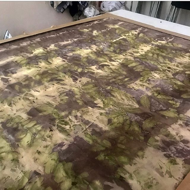 New works in the works . . . #workinprogress #worksonpaper #painting #botanicalalchemy #art #naturaldyes #contemporaryart #aslismith