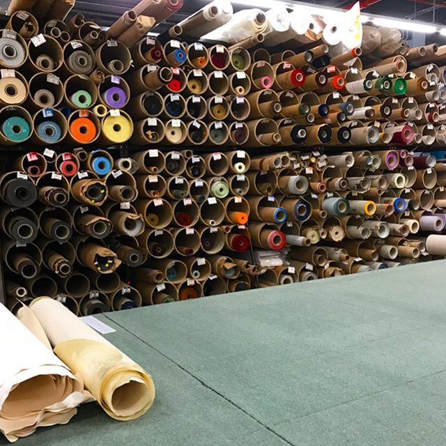 Ha not fabric. Visit to some kinda paper heaven #paper