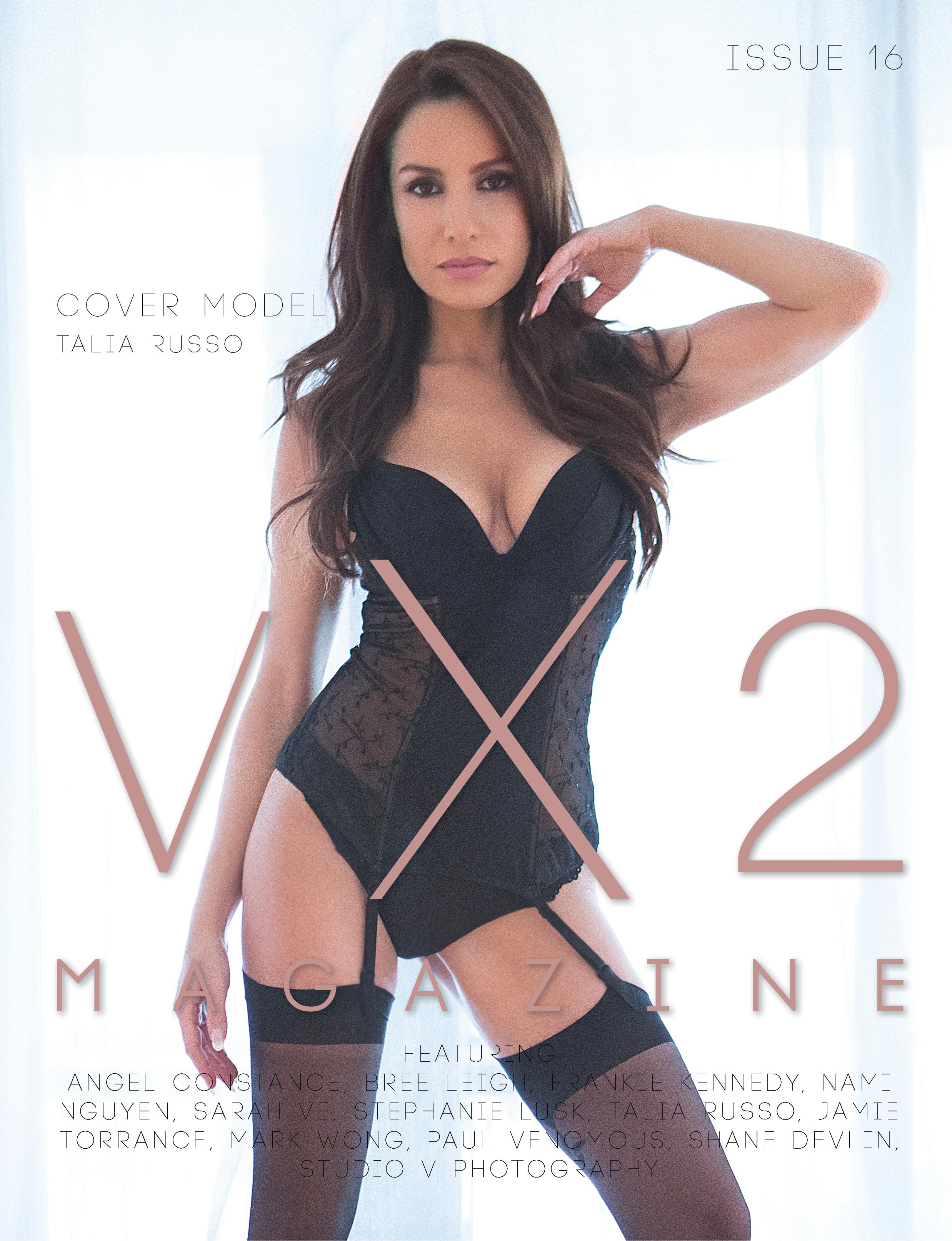 VX2 Magazine Issue 16 (2018) Talia Russo cover model.jpg