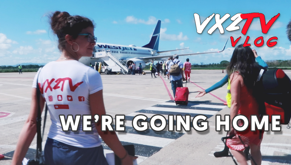 VX2TV Vlog 14 - We're Going Home