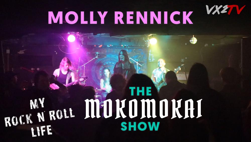 My Rock n Roll Life EP 03 - Molly Rennick, John Ellis, Mokomokai Rock Show Vasko Obscura VX2TV.jpg
