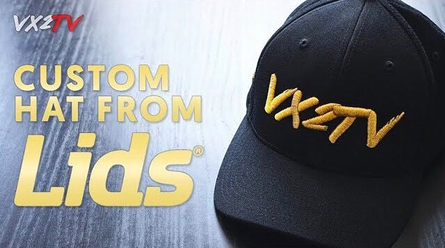 Head on over to @vx2tv #YouTube channel by clicking the link in our bio to see our latest #VLOG where we get a #custom #baseball #hat made at @lids . Make sure to #subscribe and turn on #postnotifications so you never miss any episodes. . #lids #baseballcap #customhats #customcap #merch