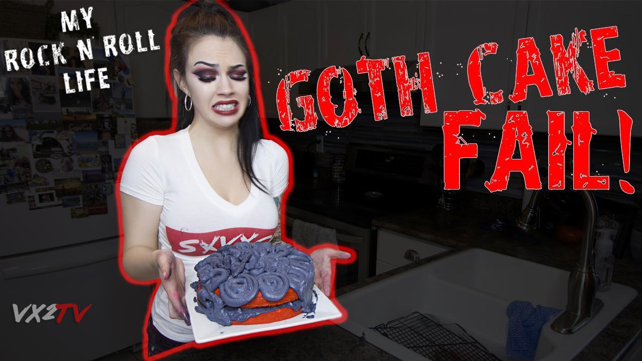 MY ROCK N ROLL LIFE - GOTH CAKE FAIL!.jpg