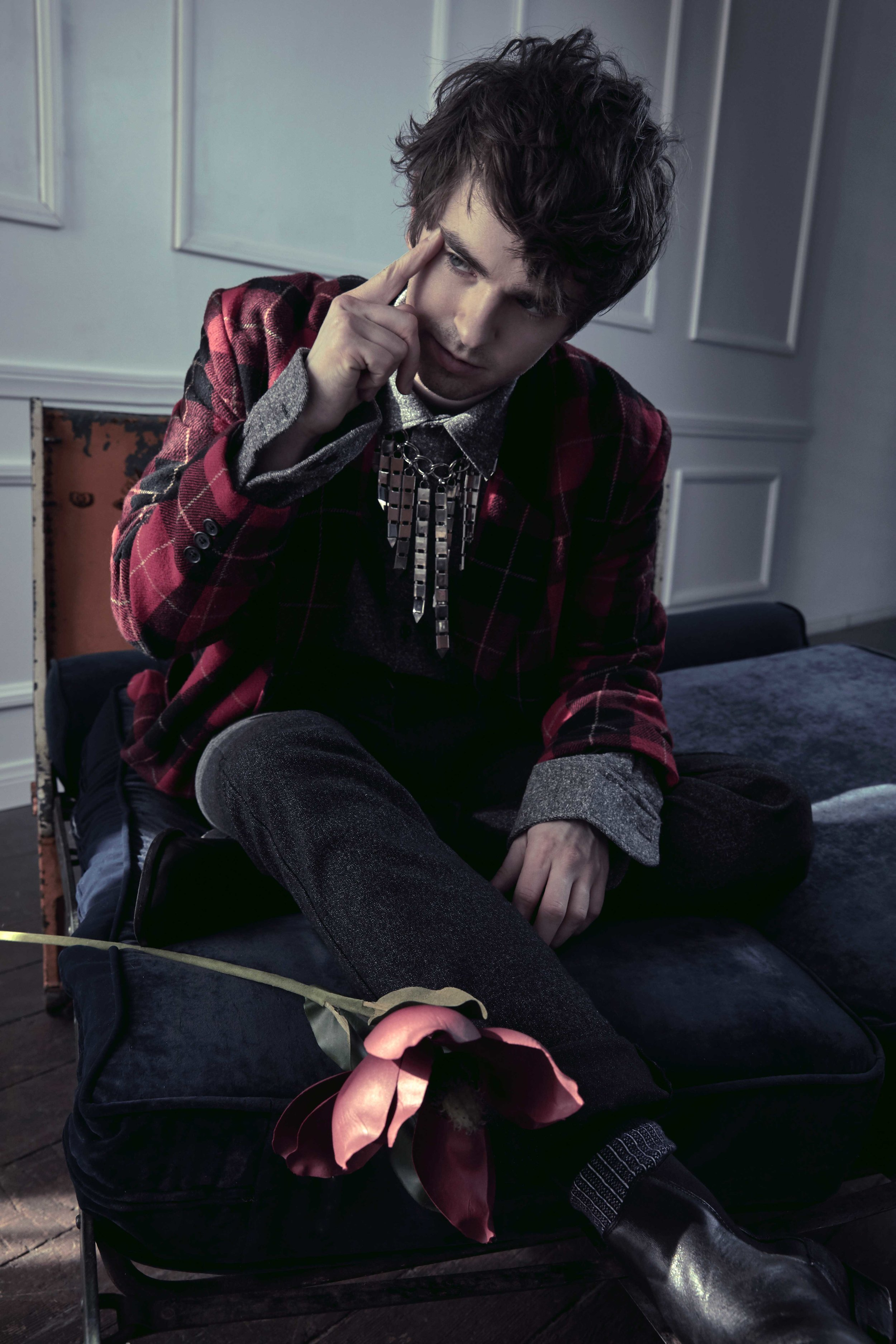 FREDDIE HIGHMORE - ROGUE MAGAZINEfeaturing *** freddie highmorecreative director *** chris kochdirector of photography *** chris kochphotography *** jonny marlowlighting tech *** alexander fenyvesstyling *** wilford lenovgrooming *** molly greenwald @ the wall groupmusic *** resist – hoy la post production *** tribe federation Editor in Chief  - Heather SeidlerEditorial Director - Katie McGeheeEditorial Assistant - Malorie McCall
