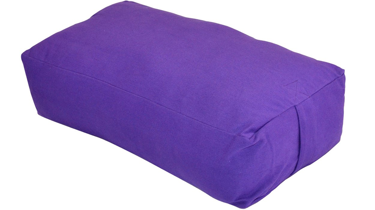 Restorative Yoga Bolster - Large Rectangular BolsterPurchase on Amazon