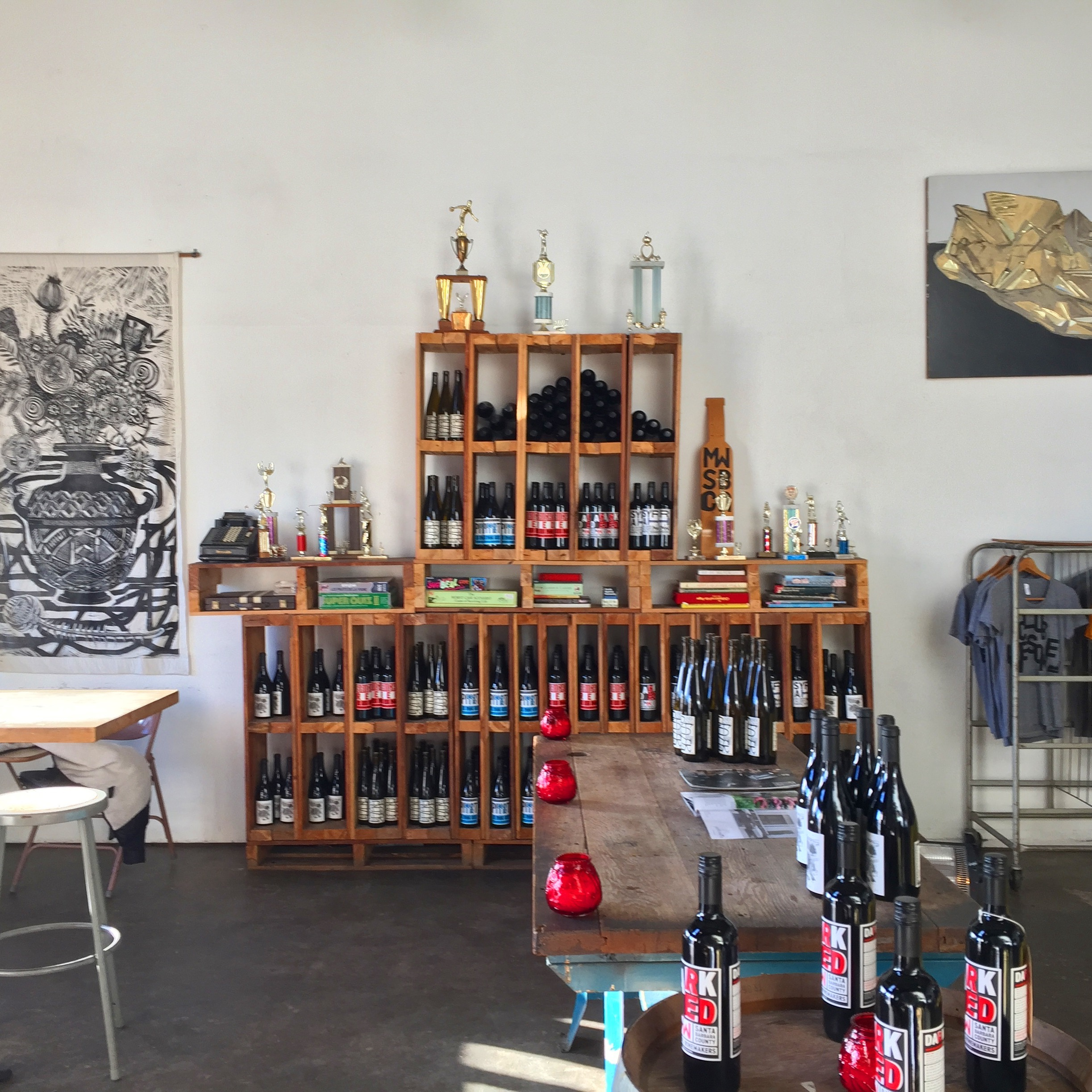 Municipal Winemakers Tasting Room