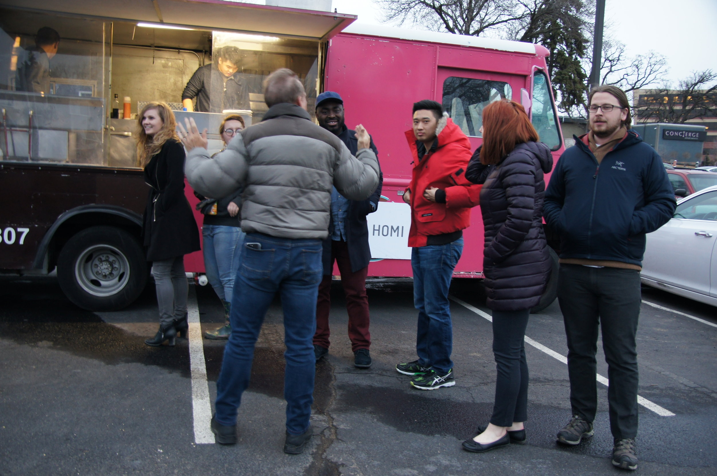 Homi Foodtruck for Residents