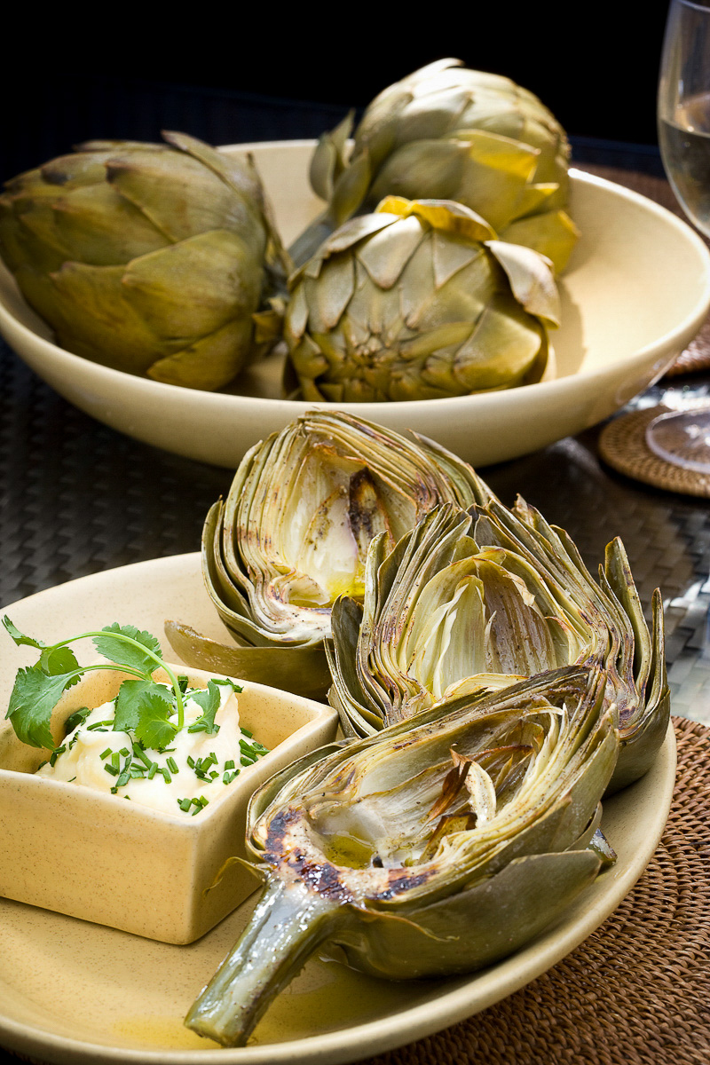 Copy of Grilled artichokes