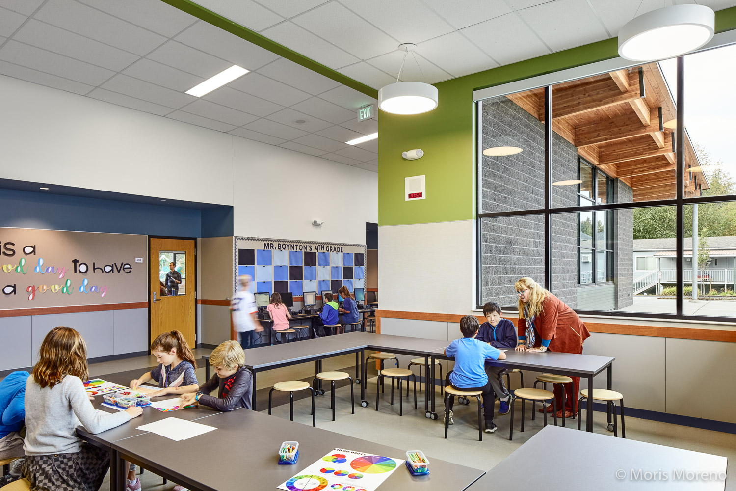 Bassetti Architects, Cougar Ridge Elementary, Washington