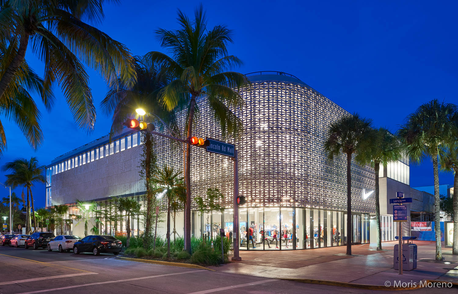 Brodson Construction, Nike Store, Lincoln Road