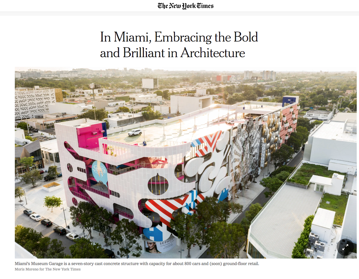 In Miami, Embracing the Bold and Brilliant in Architecture
