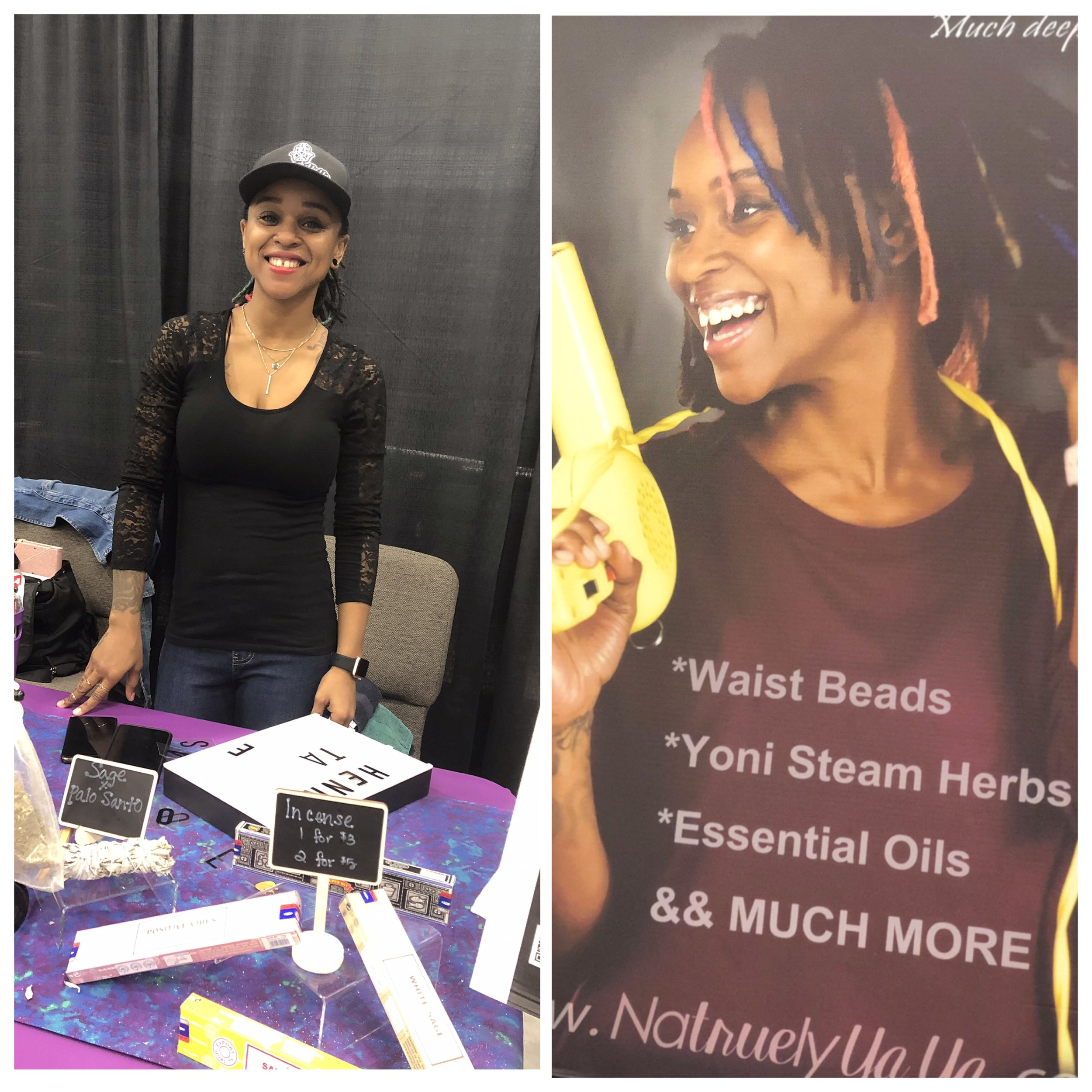 - Meet Yaya of NatruelyYaya. She's a licensed cosmetoloigst, certified reike healer, and sells handmade waistbeads. Check out her work on IG @natruelyyaya!