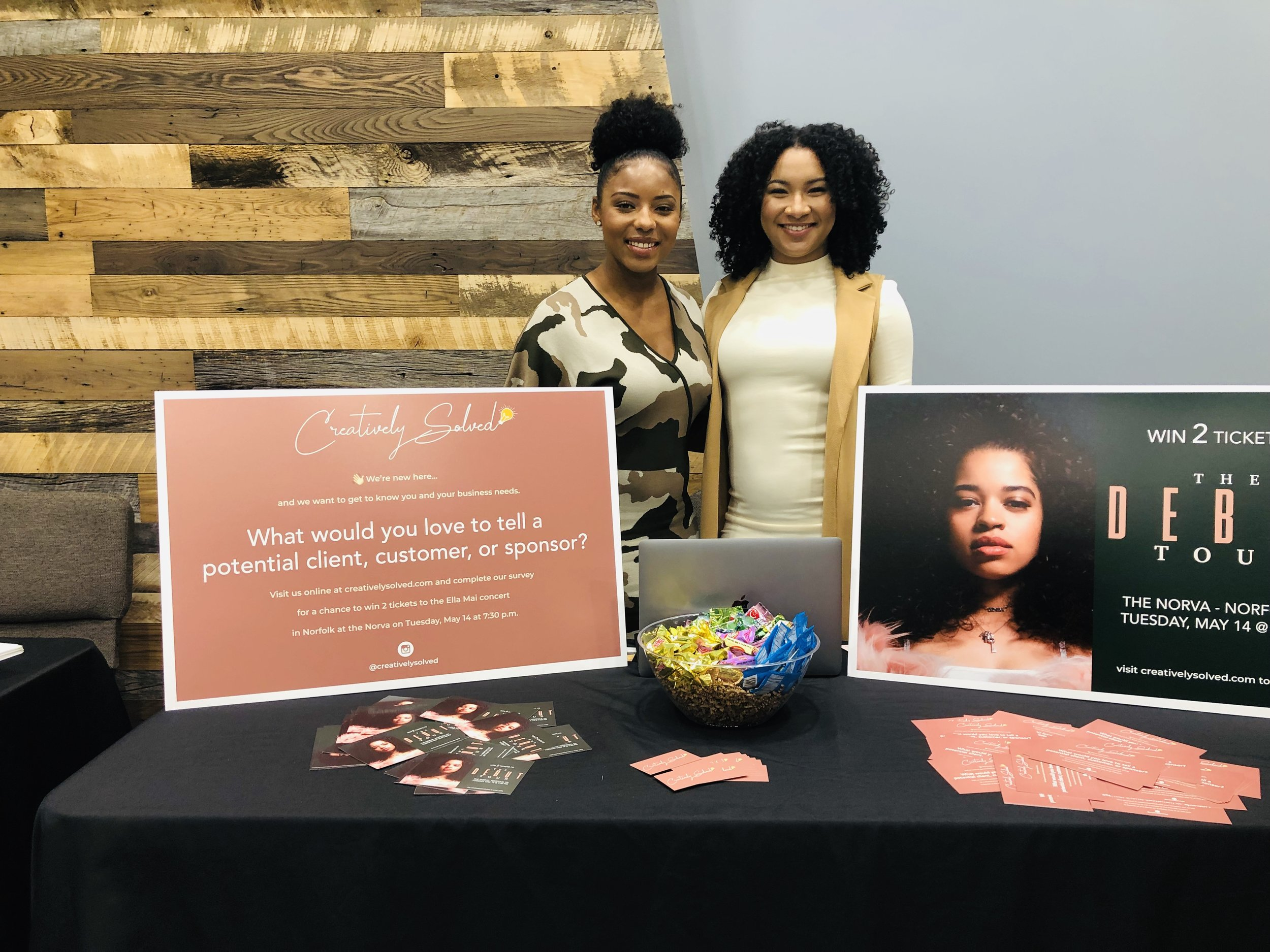 - Meet the ladies of Creatively Solved! They help small business generate ongoing revenue through web design and digital strategy. Check them out on IG @creativelysolved!