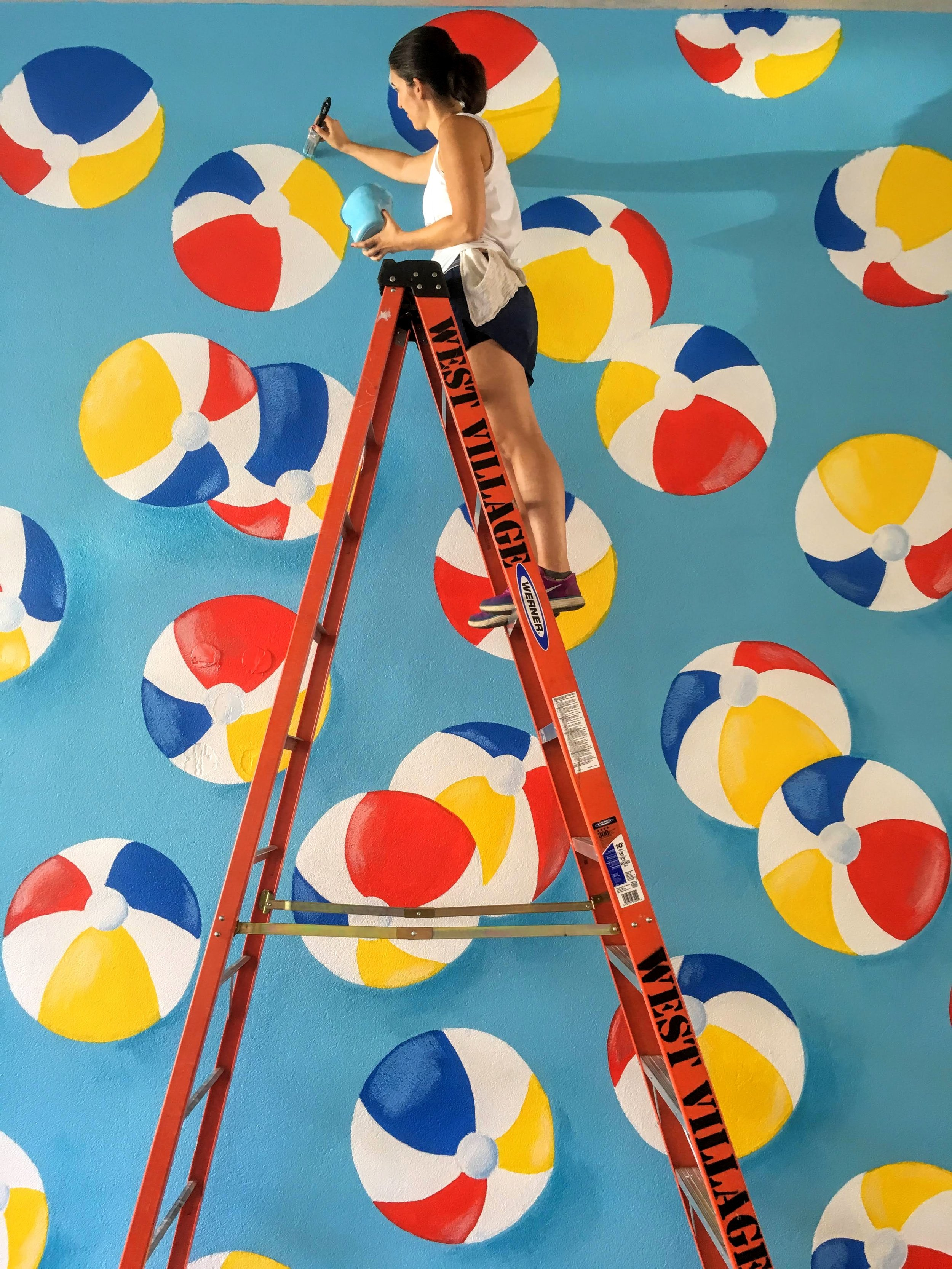 Mione_Beach Balls West Village Mural.JPG