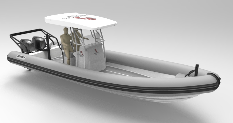 Waverider 880 - Length - 8.8m, Max Beam - 2.95mMax Persons - 15Priced from - $130,000 (with engine)