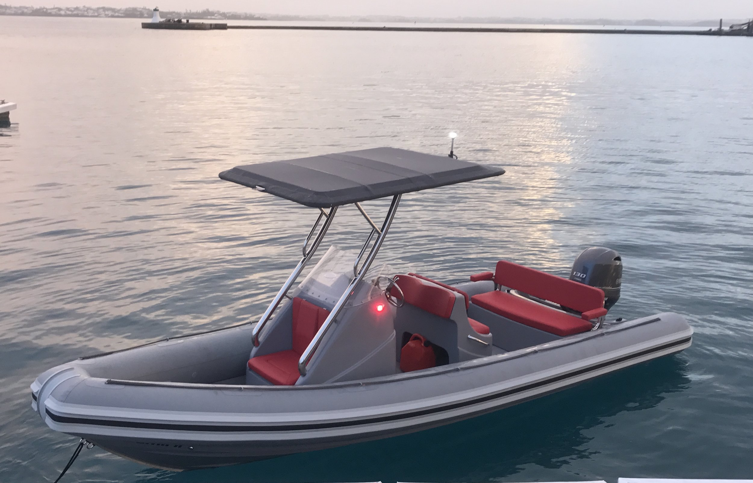 Waverider 650 - Length - 6.5m, Max Beam - 2.40mMax Persons - 9Priced from - $65,000 (with engine)