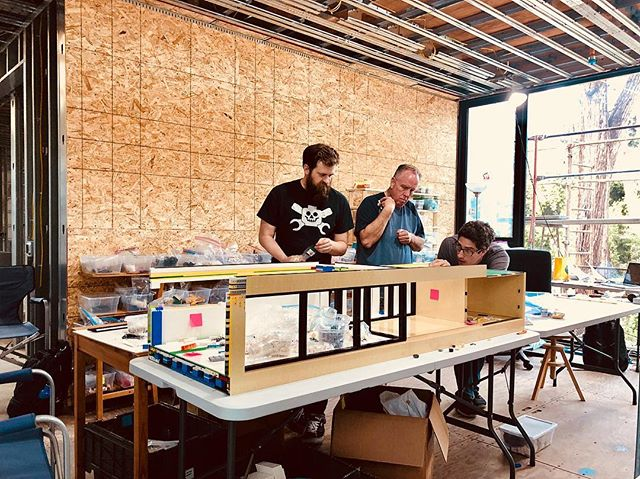 We're building a model of Bridge House out of 102,000 plus @lego pieces, at more than 17' long, this is one big feet. @cornerstonebrickdesigns is without a doubt, up for the challenge!  Check out the link in bio to get involved and take part of the action. Thanks! . . . #lego #architecture #design #modern #bridgehousela #iphonex