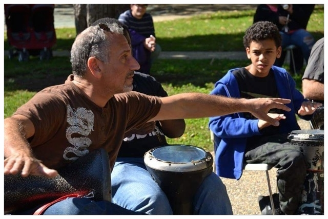 WELCOME! - to the virtual home of Joe Tayoun,an accomplished percussionist and educator specializing in Middle Eastern and World music. Here, you can find information about Joe,his many performing ensembles, and his work in educational and therapeutic settings.