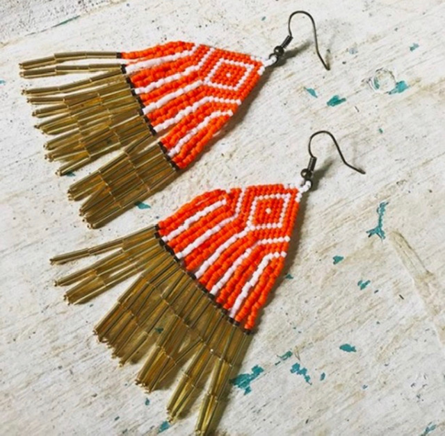 The Islander Earring - One Size. $65. Choose 1-4 colors.