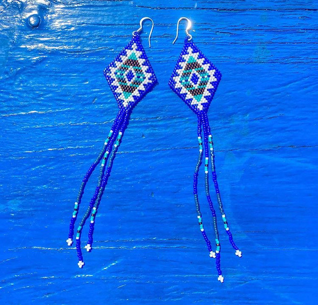The Essaouira Earring - One Size.With Fringe: $85.Without Fringe: $75.