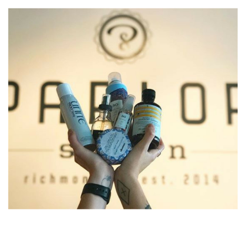 Parlor Salon // 20% off products
