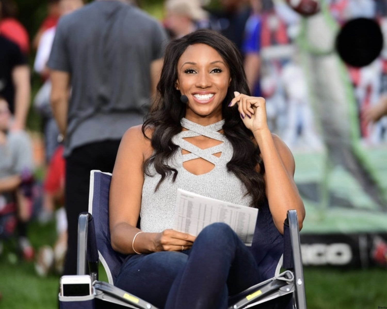 How ESPN's Maria Taylor is Literally Changing the game - Blavity.com