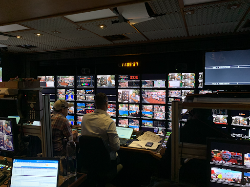 College GameDay control room, Sept. 21, 2019