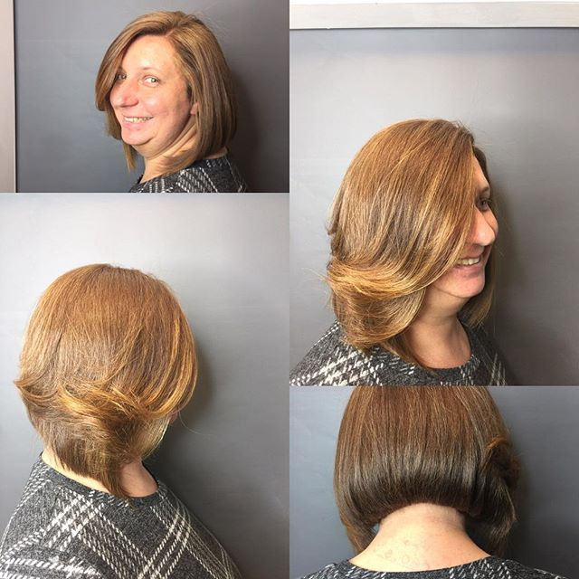 New woman, color and cut: Hunter