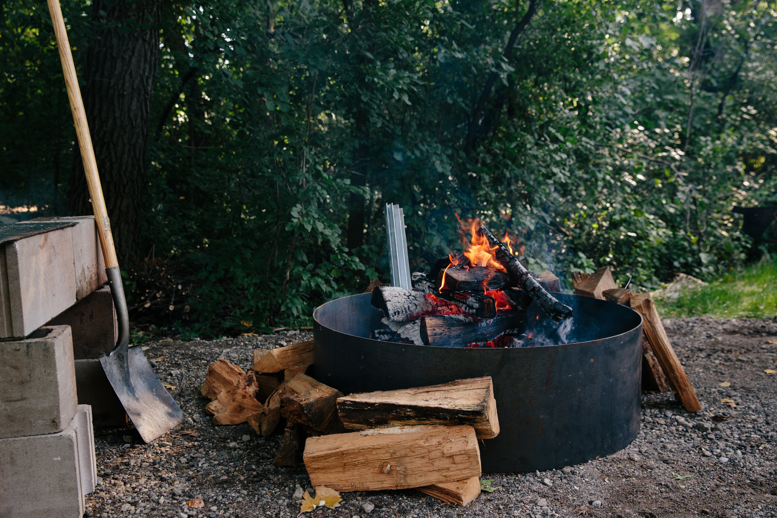 our method - the wood-fired portable scratch kitchen