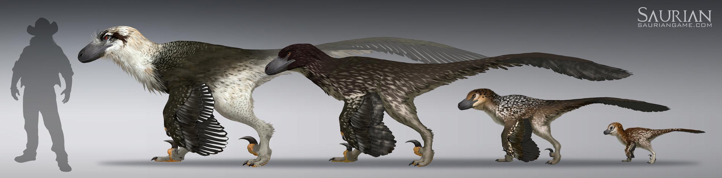 Dakotaraptor Ontogeny