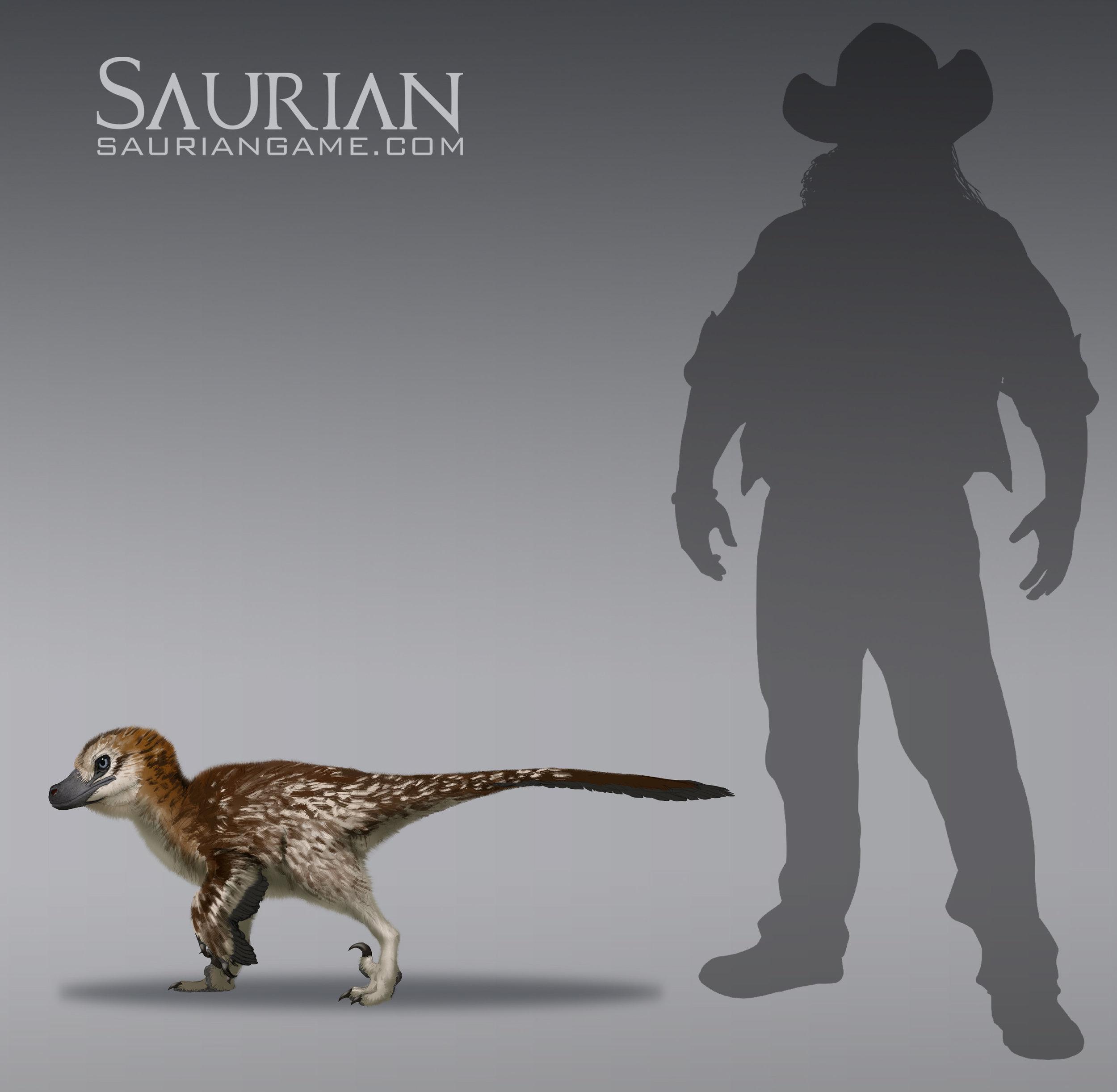 Dakotaraptor Baby