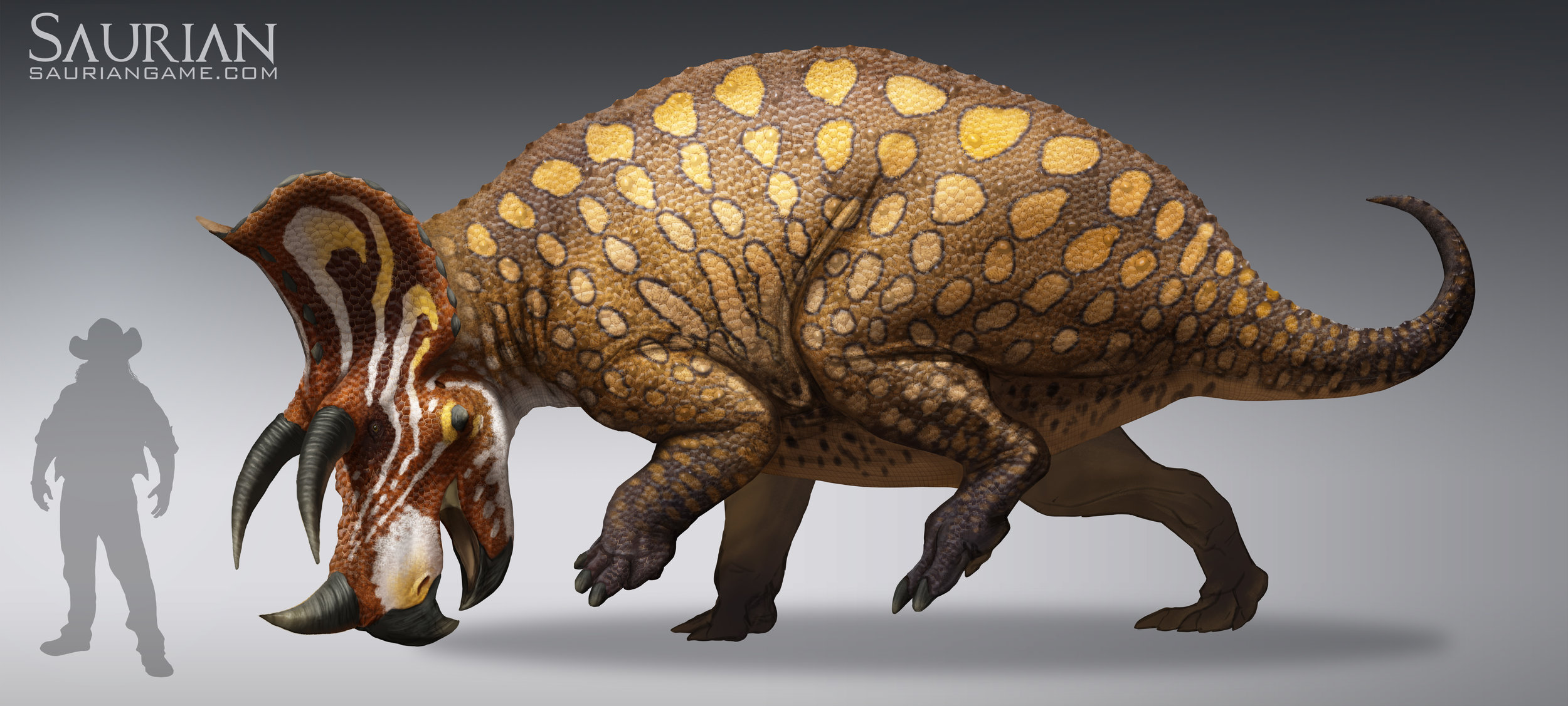 Triceratops Adult