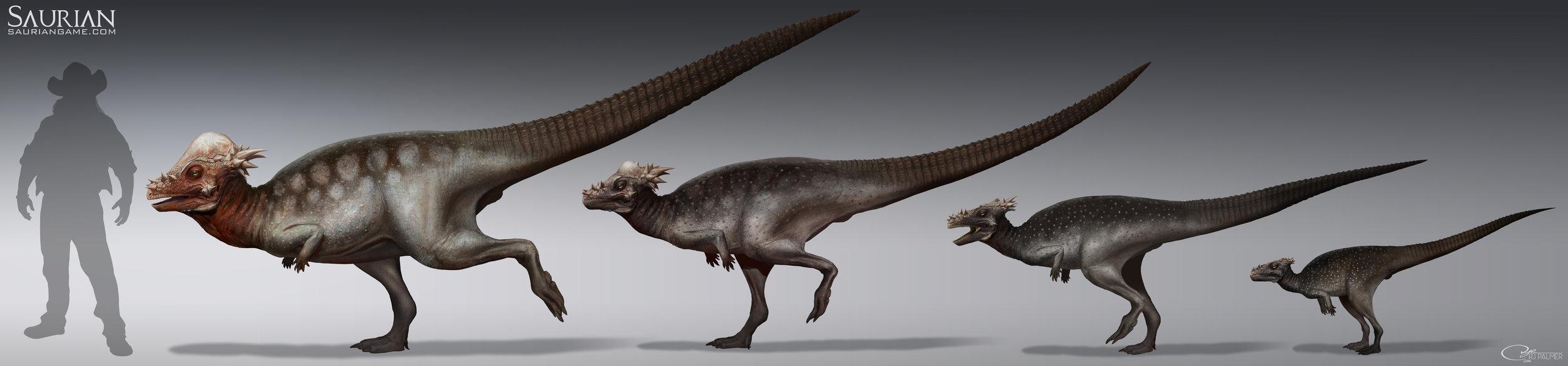 rjpalmer_pachycephalosaurus_group_001.jpg