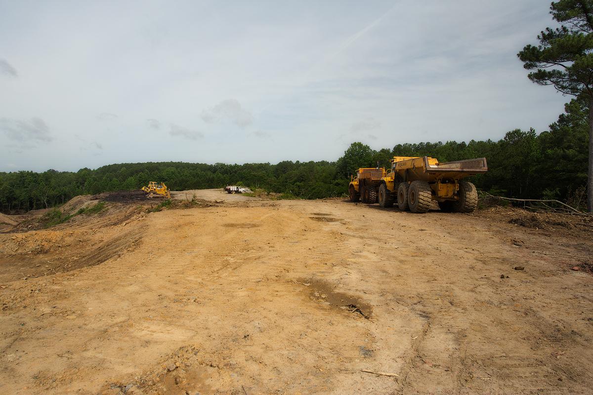 Early Coal Reclaim and Dump Trucks web.jpg