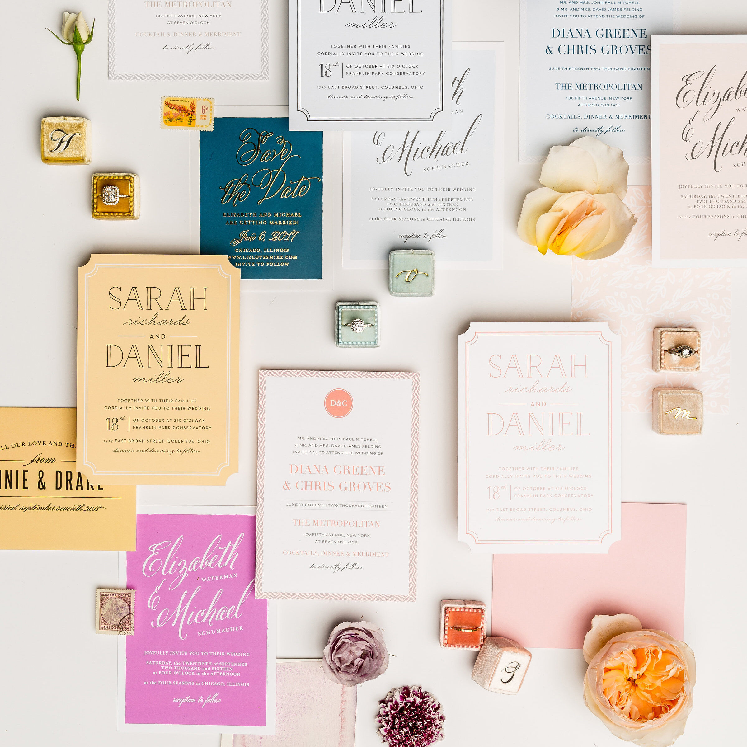 Los Angeles Wedding Planner Invites