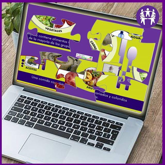 💡¿La imagen está toda desordenada? ¡Ése es el juego: armá el rompecabezas y descubrí un almuerzo saludable! . 👉 Ingresá a nuestra web (link en bio), andá a Herramientas Didácticas y hacé clic en🔹JUEGOS PARA CHICOS🔹. En el listado, vas a ver ROMPECABEZAS. . También podés elegir entre más opciones para jugar online y para descargar. . ¡Aprender a cuidar la salud también puede ser divertido!🤗 . . . . #herramientasdidácticas #juegos#online #recursoseducativos #aprenderjugando #aprenderhaciendo #nutrición#alimentación #nutris#recursos #sopadeletras#desayuno #FundaciónEducacional