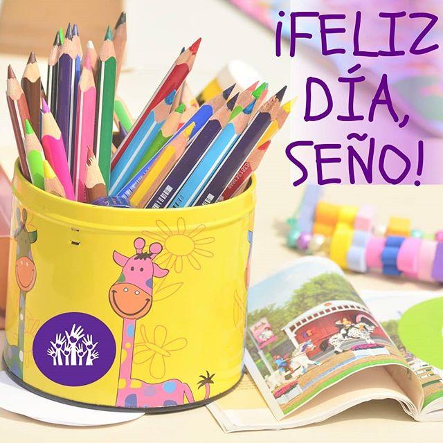 ¡MUY FELIZ DÍA, SEÑO! . #hoy es el Día de la Maestra Jardinera y de los jardines de infantes 😍 . ¡Felicitaciones por tu trabajo! Promover hábitos saludables desde edades tempranas es invertir en salud para toda la vida 💪 . . . #jardíndeinfantes #jardinesmaternales #seño #maestrajardinera #Docentes #educación #EducacionAlimentaria #habitossaludables #edadestempranas #niñospequeños