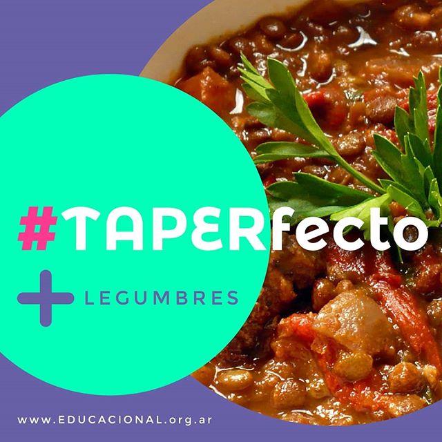 Mirá este plato de guiso de lentejas… ¡#TAPERfecto para sumar más #legumbres! 🤗 . Necesitás: ✔️ 1/2 Kg. de lentejas ✔️1 cebolla ✔️1 ají ✔️2 zanahorias cortadas en cubos ✔️ 1 papa ✔️Caldo ✔️1 cda. de aceite ✔️Sal y pimienta a gusto 👉La noche anterior, dejá las lentejas en remojo con agua y sal. Colálas y hervirlas en abundante agua por 20 minutos aproximadamente. Aparte, picá y rehogá la cebolla en una sartén con aceite y agregá el resto de las verduras cortadas en cubos. Agregá las verdras a las lentejas y cubrí con caldo. Condimentá y cociná revolviendo de vez en cuando hasta que las lentejas estén tiernas y el guiso algo espeso (unos 30 minutos). 💪🤗 . . . #TAPERfecto para comer un día frío como #hoy y para #todoslosdías! . . .  #recetas  #legumbres  #verduras  #cocinarencasa  #ricoysaludable  #nutritivo  #lentejas  #legumbres