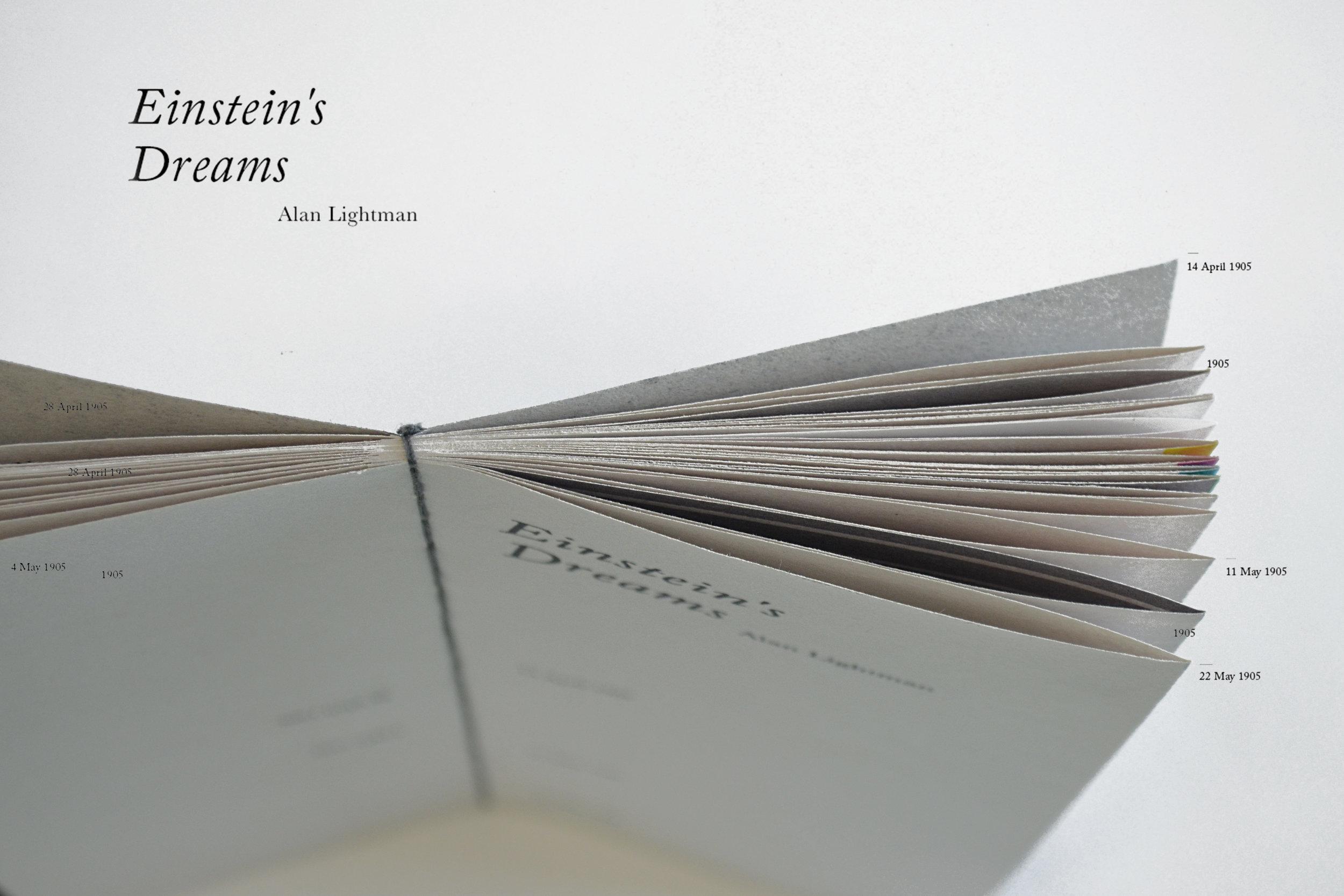 Conceptual Artist Book </br>EINSTEIN'S DREAMS