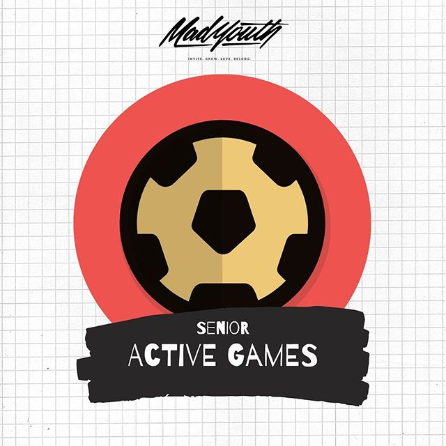 S E N I O R S ! Whip out your Nikes and get ready to sweat it out! Active Game Night tomorrow 💪🏼🏃🏽♂️🏏🤾🏼♂️⚽️🥏⛹🏼♀️ #madyouth
