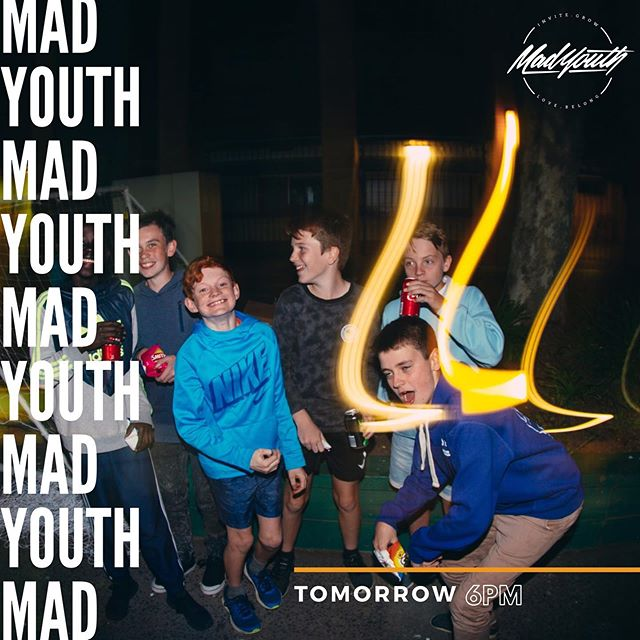 See you guys tomorrow! Seniors are having a night of Jack Box games, and juniors have Relay night! 👏🏼💪🏼👌🏼 #madyouth